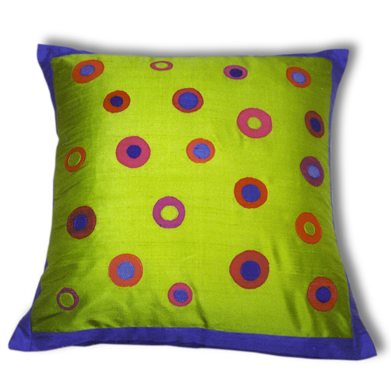 Green Dot Cushion