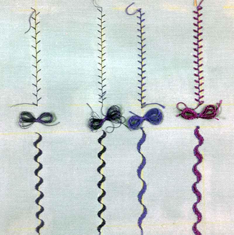 Variations on a stitch