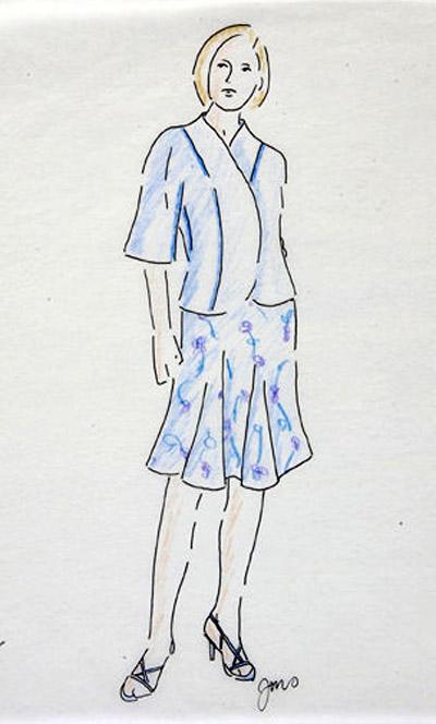 Jennifer Sauer's sketch