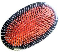 Military hair brush