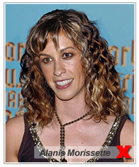 Alanis Morissette hairstyles