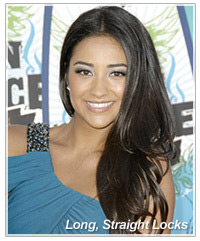 Shay Mitchell hairstyles