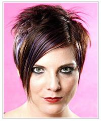 Alternative short hairstyle