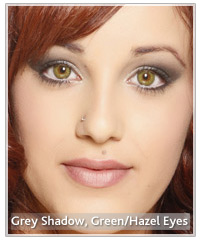 Natural makeup looks for hazel eyes