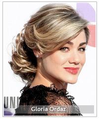 Gloria Ordaz hairstyles