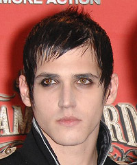 Mikey Way hairstyles