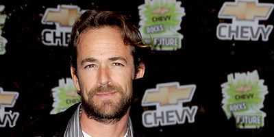 Luke Perry hairstyles