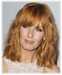 pretty hair style new trend alert the wavy blunt bob with bangs 3736