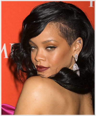 Shaved Hairstyle Ideas Inspired By Rihanna : Hairstyles ...