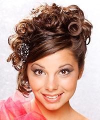 Astounding Hairstyles Prom Curls Short Hairstyles Gunalazisus