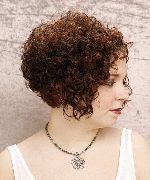 Pleasing Cute Curly Hairstyles Layered Curly Hairstyles Hairstyles For Women Draintrainus