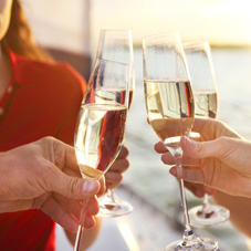 Ticketing System for Champagne Tasting Events