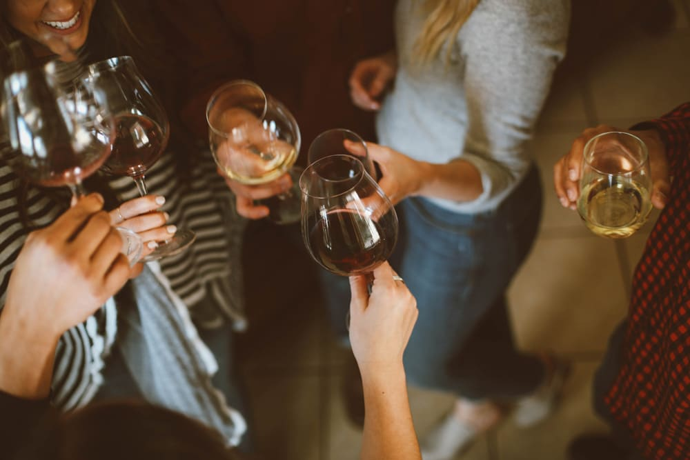 Tips for hosting a wine event