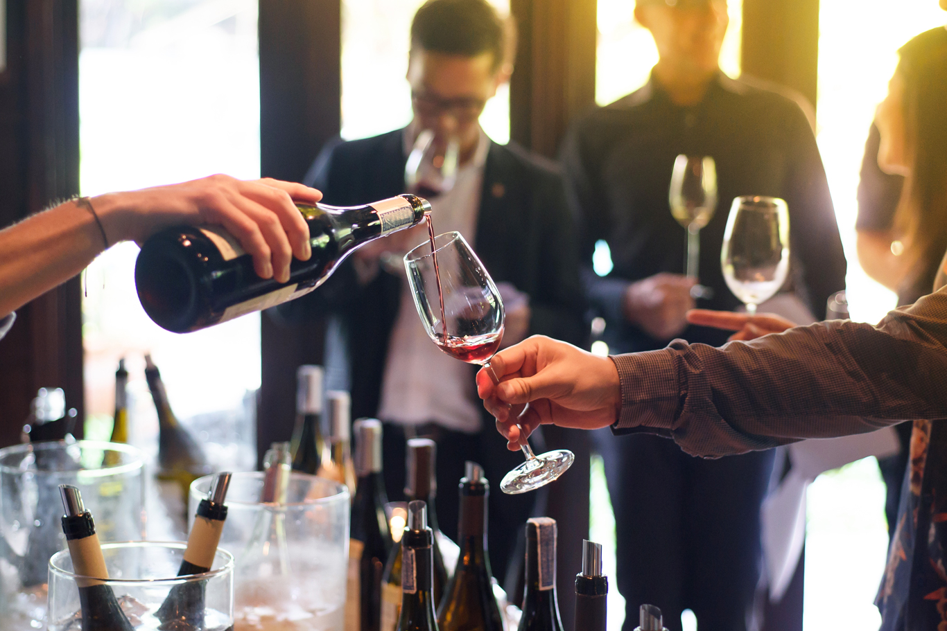 Sell Tickets for Wine Event