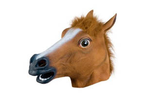 Creepy Horse Mask ++