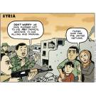 Syria: 'Don't worry - we have pledged not to use any chemical weapons in our killing and maiming.'