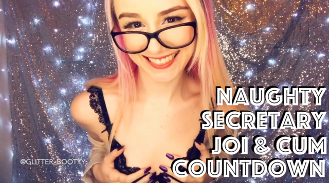 Naughty Secretary Joi & Cum Countdown Thumbnail