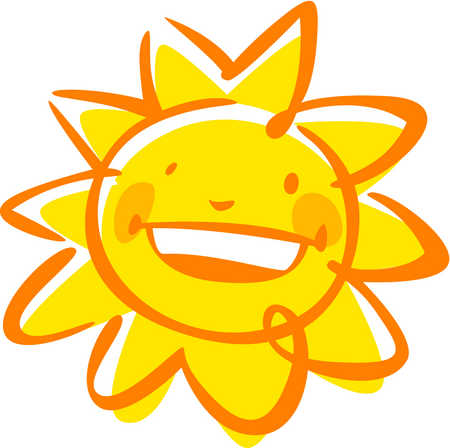 stock illustration an image of a smiling sun rh illustrationsource com smiling sun with sunglasses clipart smiling sun clipart free