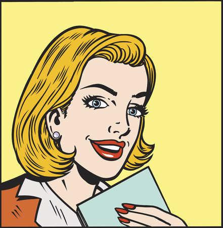 Hasil gambar untuk comic book woman