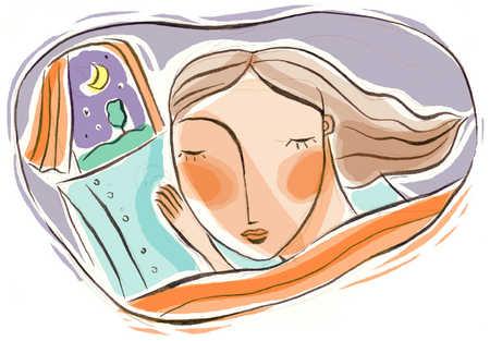 Kết quả hình ảnh cho night's rest illustration