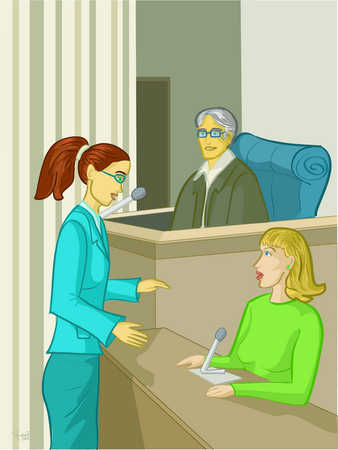 Female Lawyers Trials