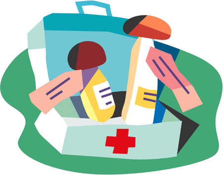 Medication in first aid kit