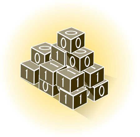 Building of binary blocks
