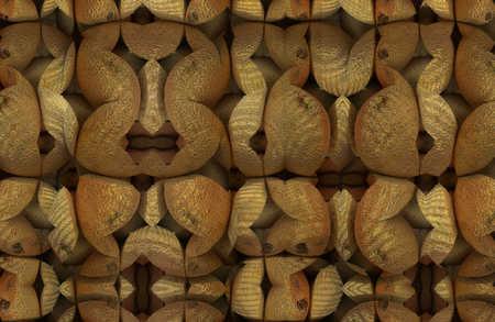 Digital composite of rocks