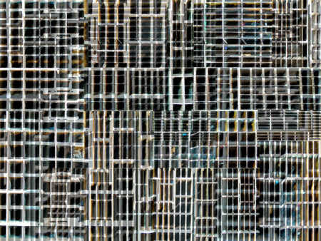 Abstract image of squares and rectangles
