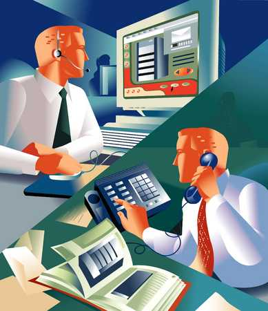 High Tech Telecommuting