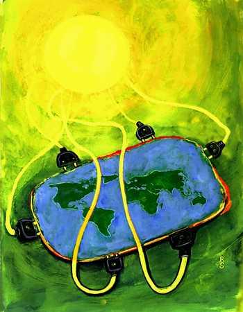 Solar Powered World
