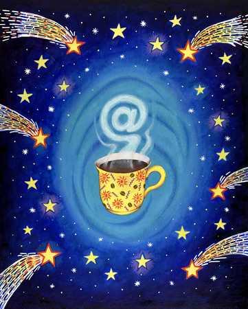 Coffee Break In Cyberspace
