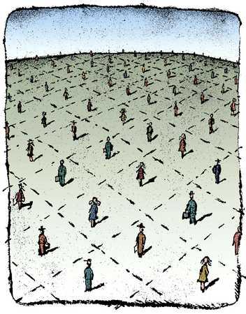 Landscape Of People