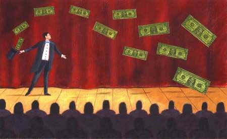Magician On Stage/Money