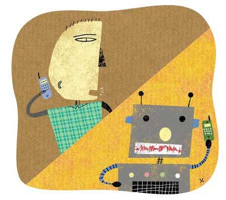 Cellular Communication/Robot