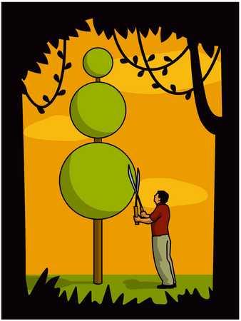 Topiary Tree Design