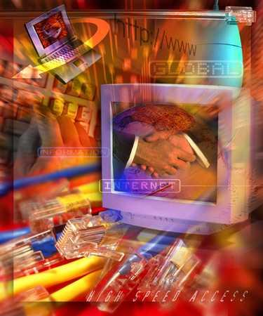 Technology/Computer/Handshake