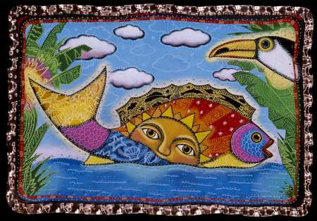 Sunshine Fish And Toucan