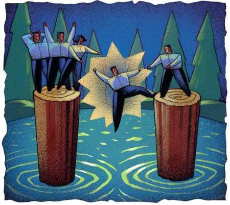 Teamwork/Helping Hands