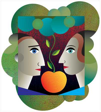 Adam And Eve/Apple