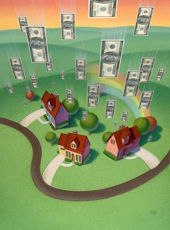 Windfall Of Cash Over Homes