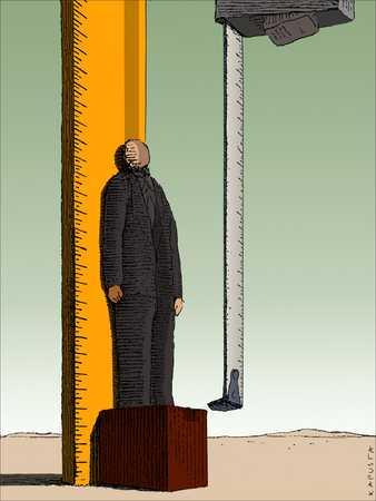 Measuring Businessman