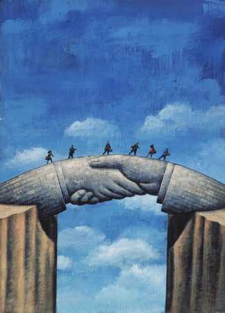 Hand Shake Bridge