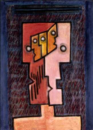 Cubist Heads On Shoulders