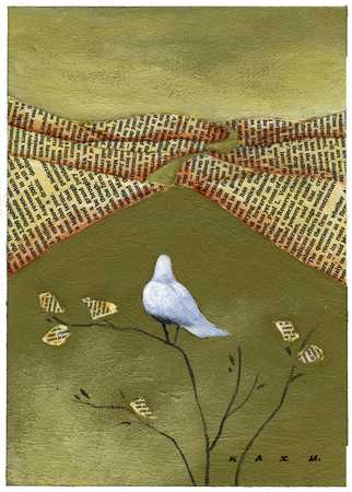 Dove And Newspaper Hills