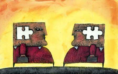 Working Together/Puzzle Pieces