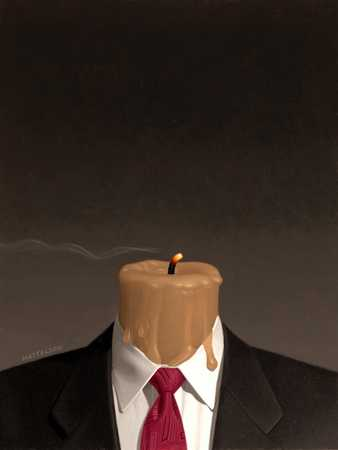 Business Suit/Burned Out Candle