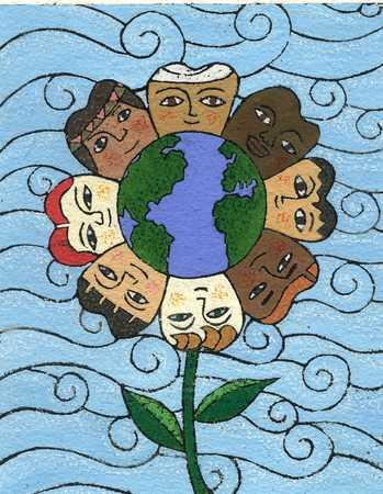 Peace/ FlowerOf People
