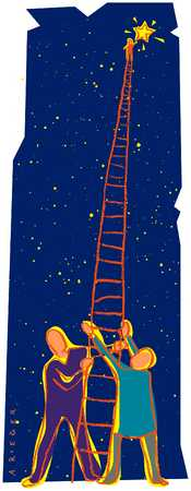 Holding Ladder To The Star