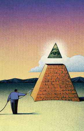 Watering Pyramid